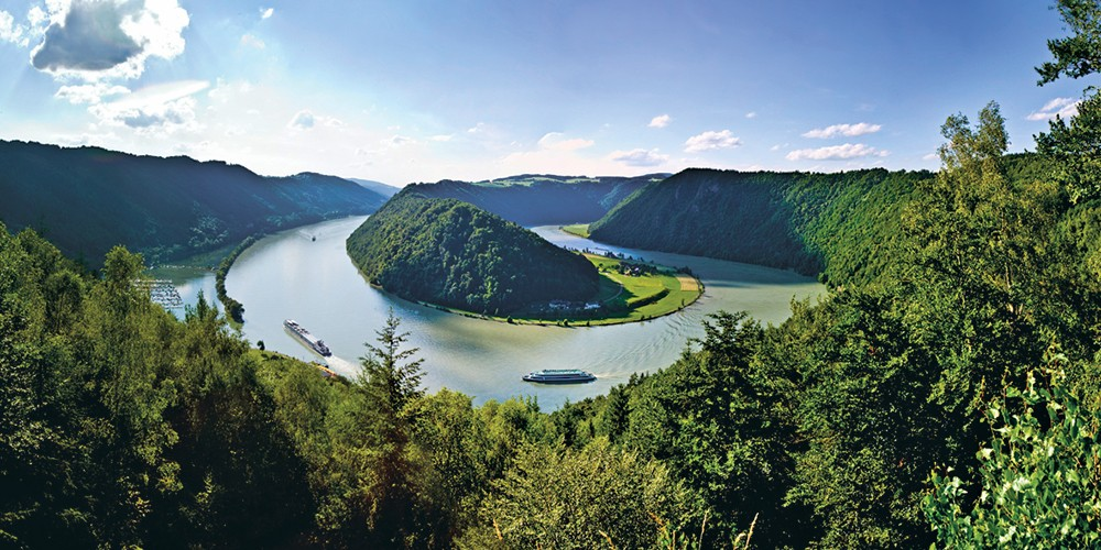 River Danube, Self guided bike tours