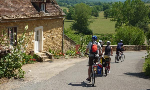 North of Burgundy cycling holidays