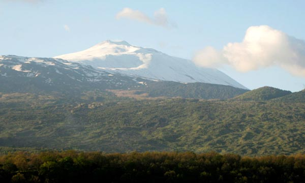 Sicily cycling holidays, Etna, Taormina, Ionian Sea